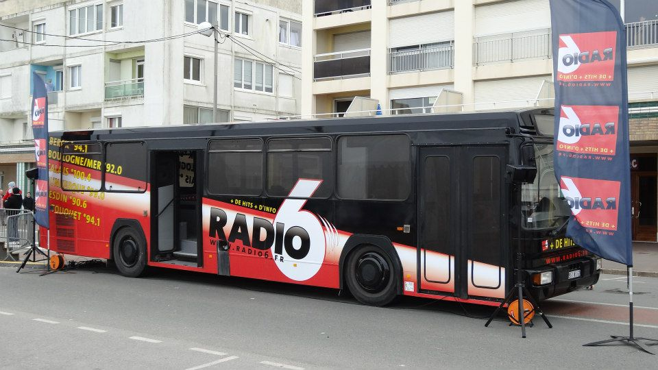 réakisation Ordinapub Bus de Radio6